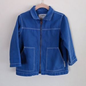 Garment Dyed Blue coat